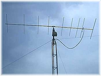 picture of Yagi antenna