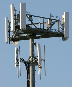 antenna array for mobile phones