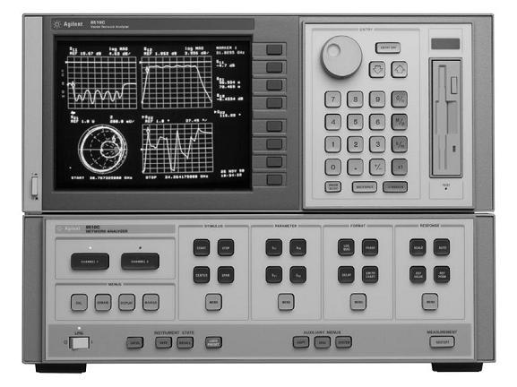 Step Frequency Radar Network Analyzer : Antenna impedance measurements